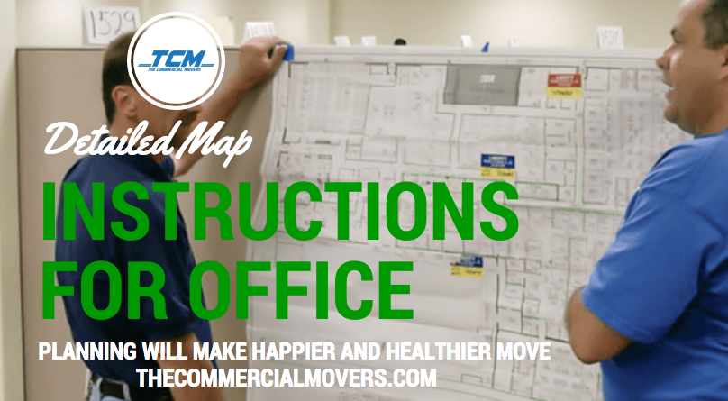 map office movers instruction
